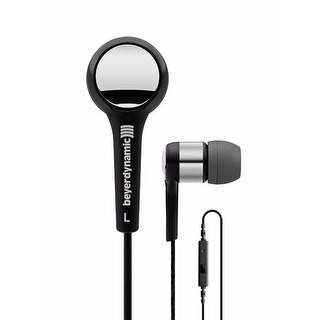 Beyerdynamic 716413 MMX 102 iE In-Ear Headphones (Black/Silver)