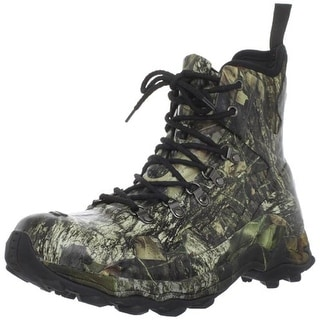 Bogs Mens Eagle Cap Camouflage Lace Up Hunting Boots - 4 medium (d)