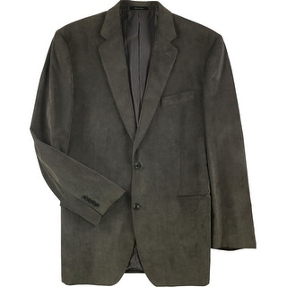 Link to Calvin Klein Mens Corduroy Two Button Blazer Jacket, brown, 44 Long - 44 Long Similar Items in Sportcoats & Blazers