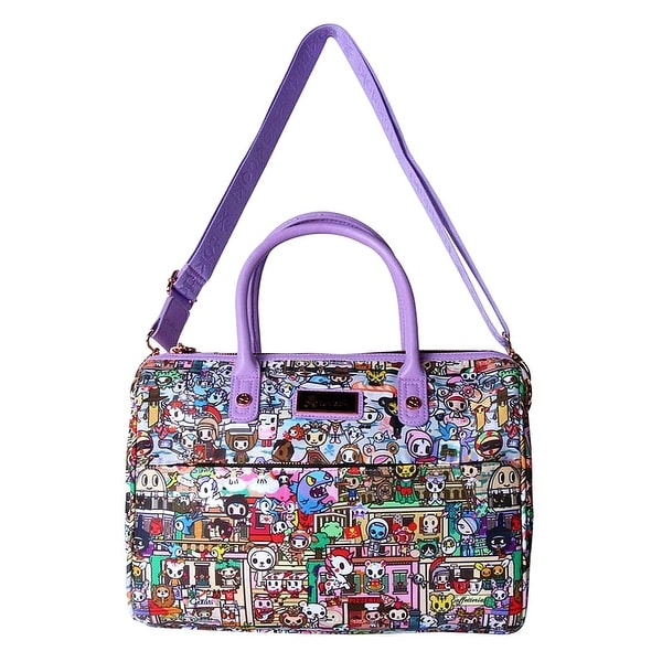 Tokidoki Roma Bowler Satchel Handbag - Multi - L