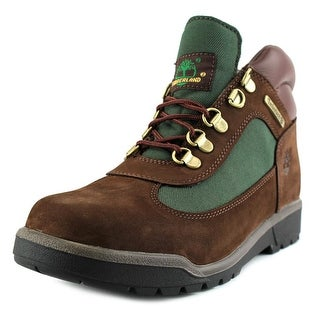 Timberland Field Boot Round Toe Leather Work Boot (Option: 3.5)