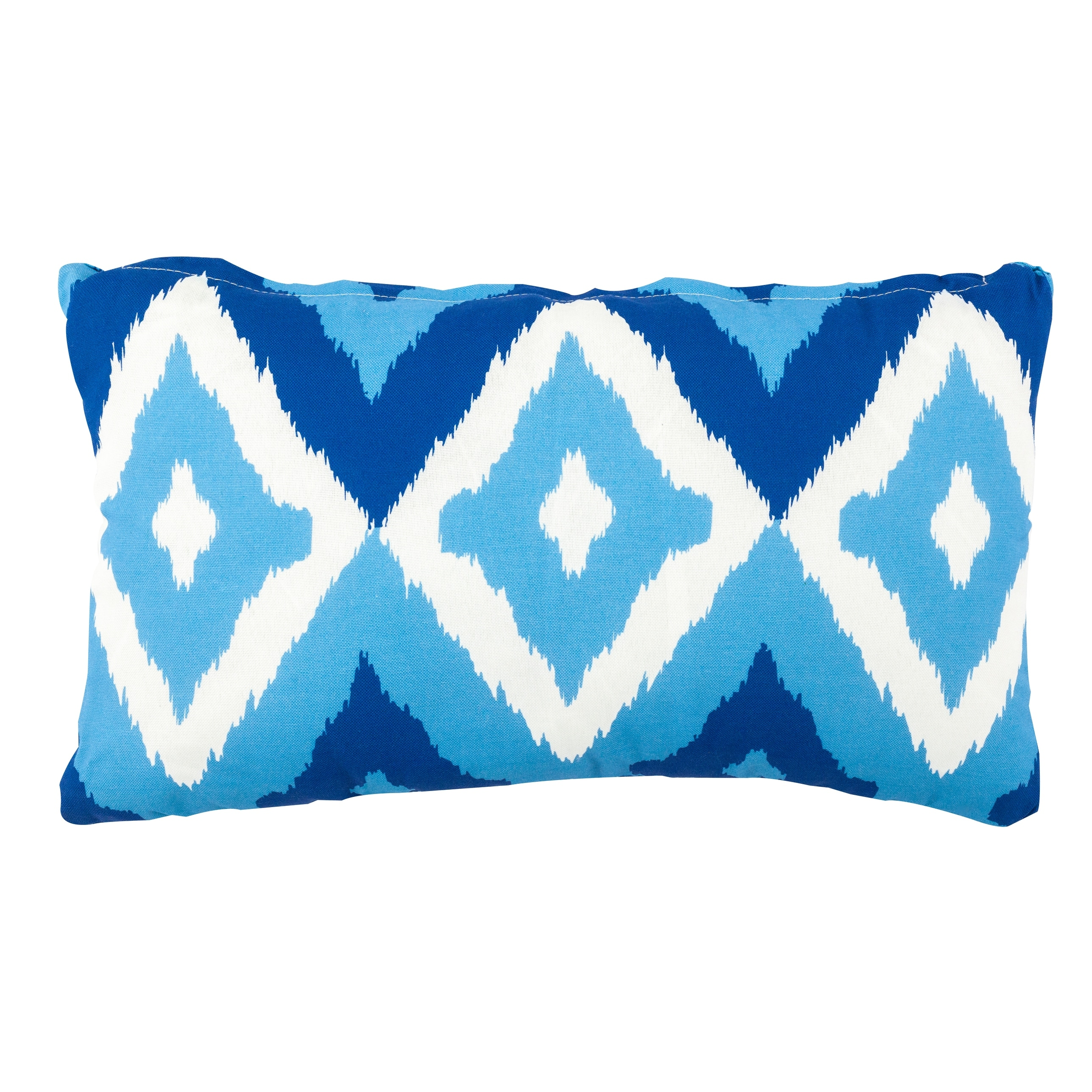 Del Mar Outdoor Pillow Blue 12 In X 20 In On Sale Overstock 31411033
