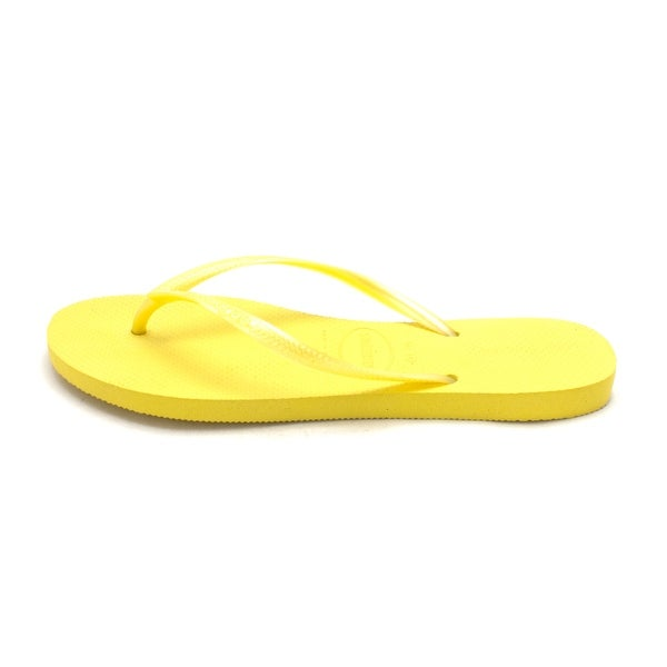 Havaianas Womens Slim Rubber Open Toe Beach - 11