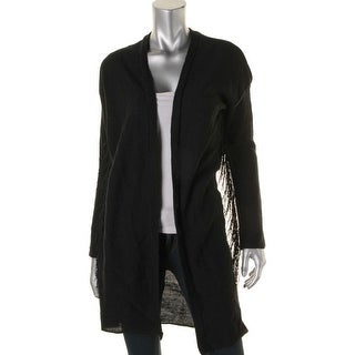 Material Girl Womens Juniors Open Front Fringe Cardigan Sweater