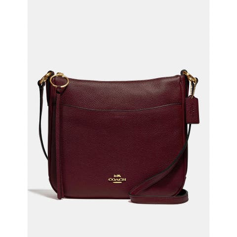 COACH Chaise leather cross-body bag