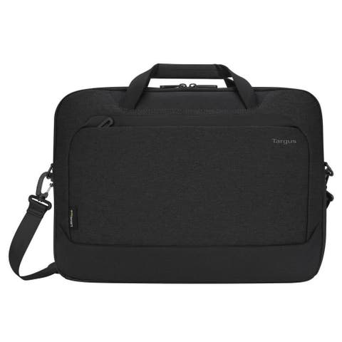 "Targus 15.6"" Cypress Briefcase with EcoSmart (Black) - TBT926GL"