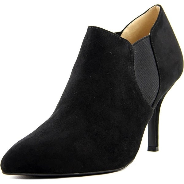 Ann Marino by Bettye Muller Karlin Women Pointed Toe Canvas Ankle Boot