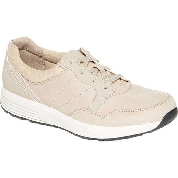 89114a6eb69 Shop Rockport Women's Trustride Tie Sneaker Taupe Leather - Free ...