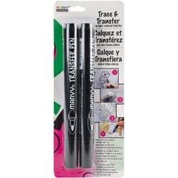 Black - Marvy Transfer Pen 2/Pkg