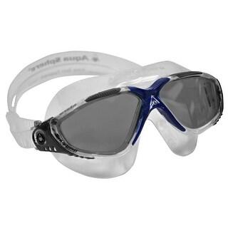 Aqua Sphere Vista Smoke Lens Swim Mask - Translucent/Gray/Blue