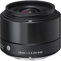 Sigma 19mm f/2.8 DN Lens for Sony E-mount Cameras (Black) - Black