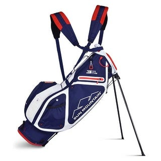 New 2019 Sun Mountain 3 5 LS Golf Stand Bag Navy White Red CLOSEOUT Navy White Red