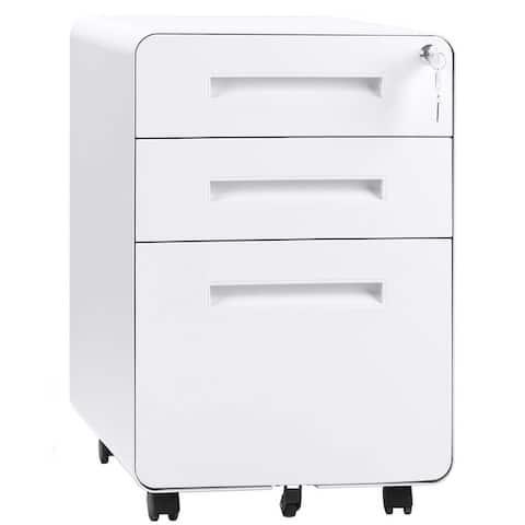 Superday 3-Drawer Metal Vertical File Cabinet