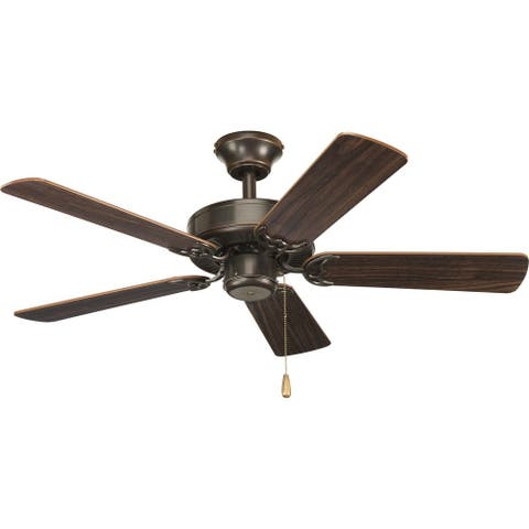 """AirPro Collection Builder 42"""" 5-Blade Ceiling Fan - 9.840"""" x 17.240"""" x 10.510"""""""
