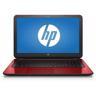 Refurbished - HP 15-F272WM 15.6 Laptop Intel Pentium N3540 2.16GHz Quad-Core 4GB 500GB Win10
