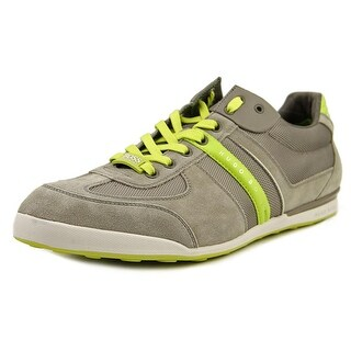 Hugo Boss Akeen Men Round Toe Canvas Sneakers