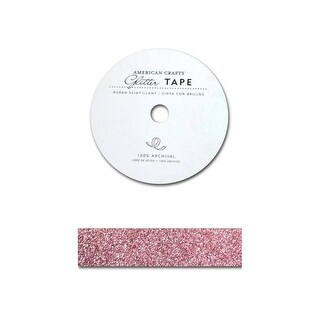 """AMC Glitter Tape 7/8"""" Parfait