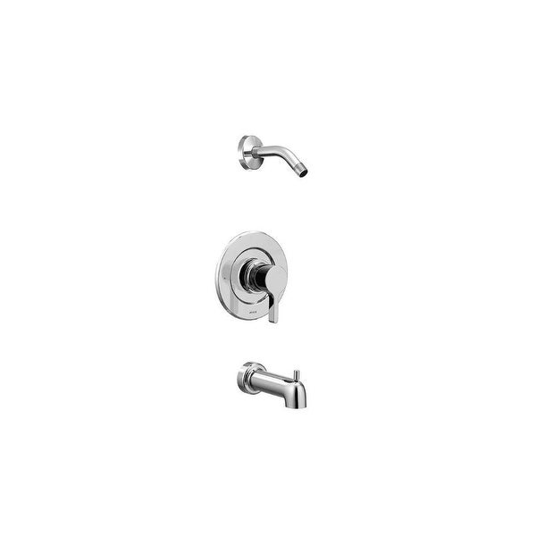 Moen T2663NH Vichy Shower Trim Package and Posi-Temp Pressure-Balancing Valve Technology - Chrome