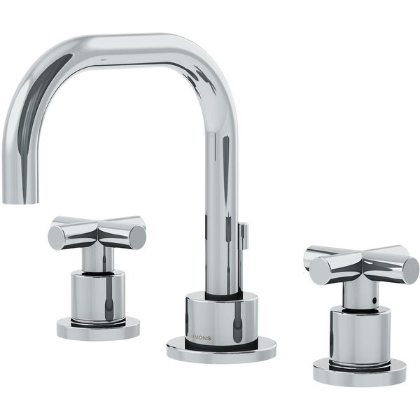 Symmons SLW-3512-H3-1.0 Dia 1 GPM Widespread Bathroom Faucet with - Chrome. Opens flyout.