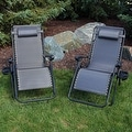 Sunnydaze Oversized Zero Gravity Lounge Chair with Pillow and Cup Holder - Thumbnail 82