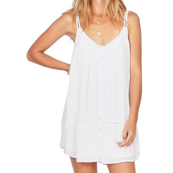 a96d99daa31b3 Amuse Society White Beach Affair Women's Size XS Mini Shift Dress
