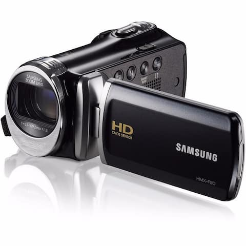 Samsung HMX-F90 High Definition Black Camcorder
