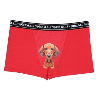 Men's Iconic Boxer Briefs - Dachshund