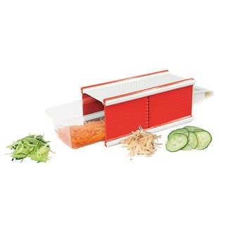 5-in-1 Kitchen Slicer - Slicer, Grater, Peeler, Chopper, and Shredder