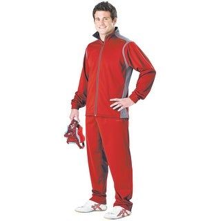 Cliff Keen All American Wrestling Warm-up Suit - Scarlet/Gray - s