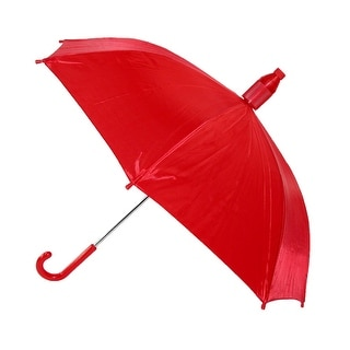 iRain Kids' No Drip Hook Handle Stick Umbrella