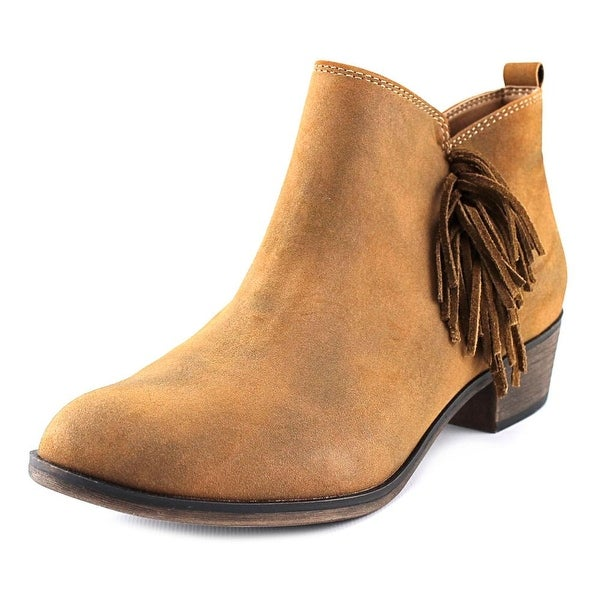 American Rag Alix Women Round Toe Synthetic Brown Bootie