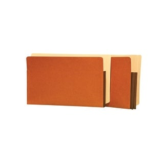 Star Products Premium Side Tab Expanding File Pocket, Letter, 5-1/4 Inches