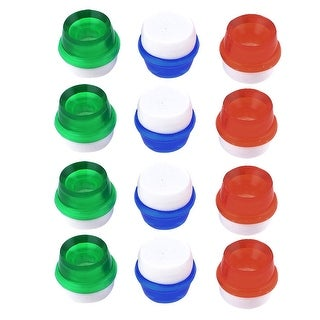 Kitchen Plastic Faucet Purifier Filter 12 Pcs for 14mm Dia Water Tap