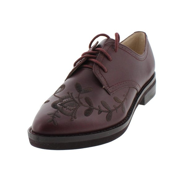 French Connection Womens Maci Oxfords Embroiedered Pointed Toe - 7.5 medium (b,m)