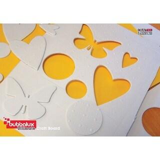 "Bubbalux Ultimate Creative Craft Board 8.5""X11"" 3/Pkg-Arctic White"