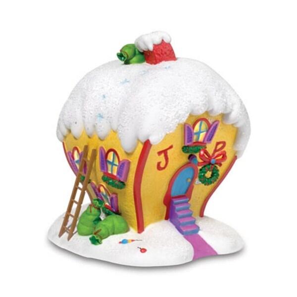 "Department 56 Dr Seuss ""Cindy Lou Who's House"" Christmas Table Piece #803392"