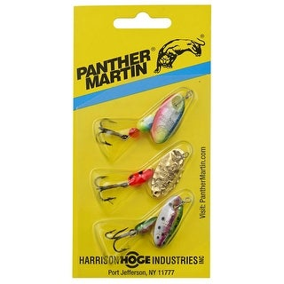 Panther Martin 0126-0993 Opening Day Spinner Fishing Lure Kit, 1/8 Oz, 3 Pack