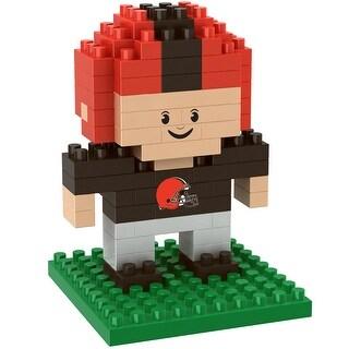 Cleveland Browns 3D NFL BRXLZ Bricks Puzzle Player