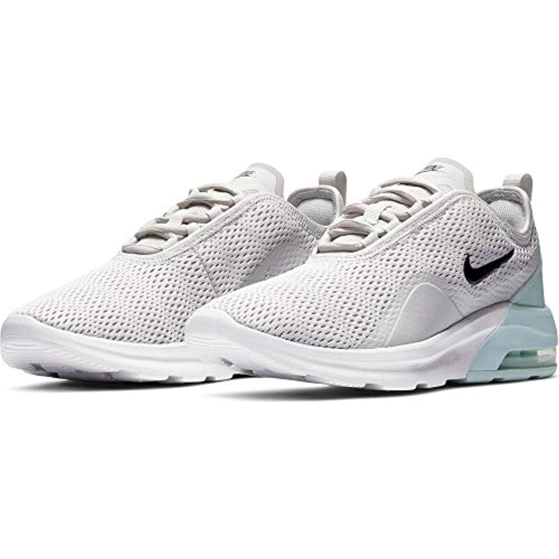 Nike Women's Air Max Motion 2 Sneaker (7.5, Grey/Black/Teal)