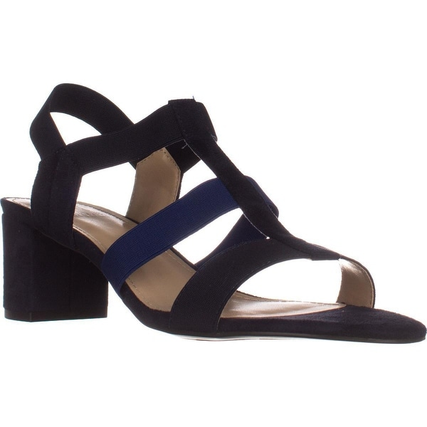 Impo Emery Block-Heel Sandals, Midnight Blue/Dazzling Blue - 9.5 us