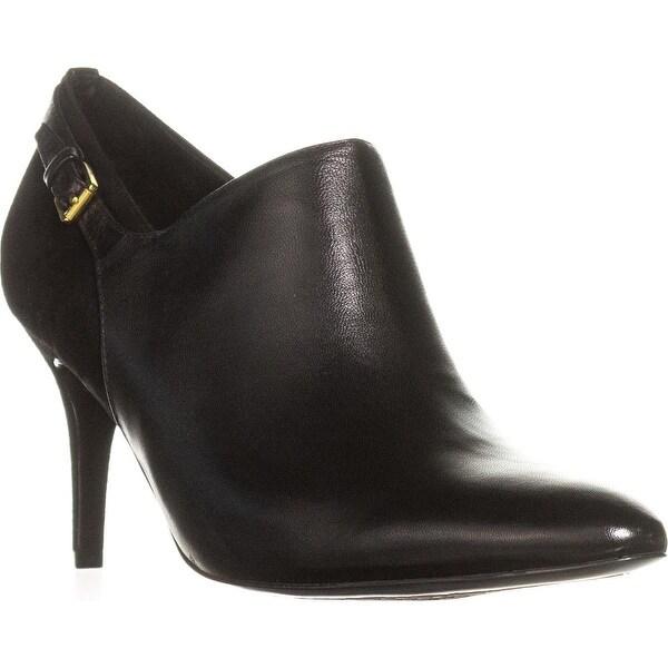 Lauren Ralph Lauren Pabla Dress Booties, Black