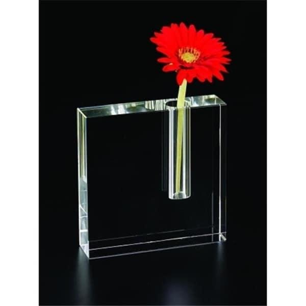 Badash H215 Platinumin Block Bud Vase