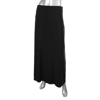 ECI Womens Matte Jersey Long Maxi Skirt - S