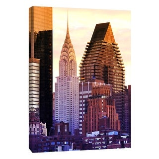 """PTM Images 9-108424  PTM Canvas Collection 10"""" x 8"""" - """"Chrysler Building"""" Giclee New York Art Print on Canvas"""