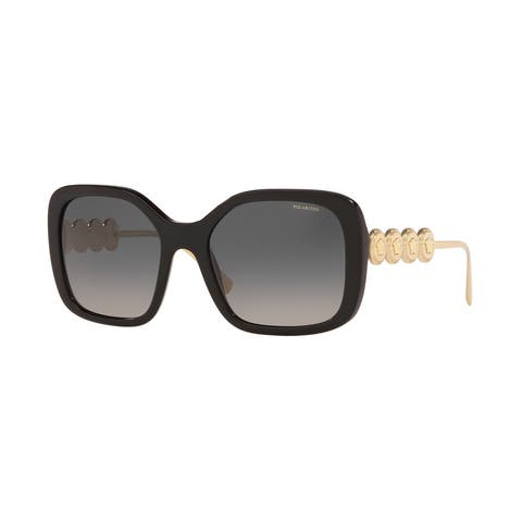 Versase VE4375 GB1/T3 53 Black Woman Irregular Sunglasses