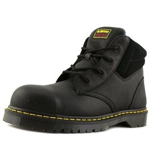 Dr. Martens Air Wair Icon 7B09 Men  Steel Toe Leather Black Work Boot