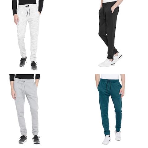 Mens Joggers Pant For Men Casual Fleece Sweatpants For Men Winter Fashion Online