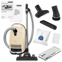 Miele Complete C3 Alize Canister Vacuum Cleaner + Rug and Floor Tool + Crevice Tool + Upholestry Tool + Dusting Brush + More