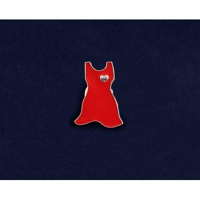 Red Dress Pin for Heart Disease Awareness