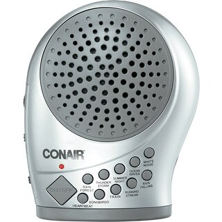 """Conair Sound Therapy with Night Light Sound Machine"""